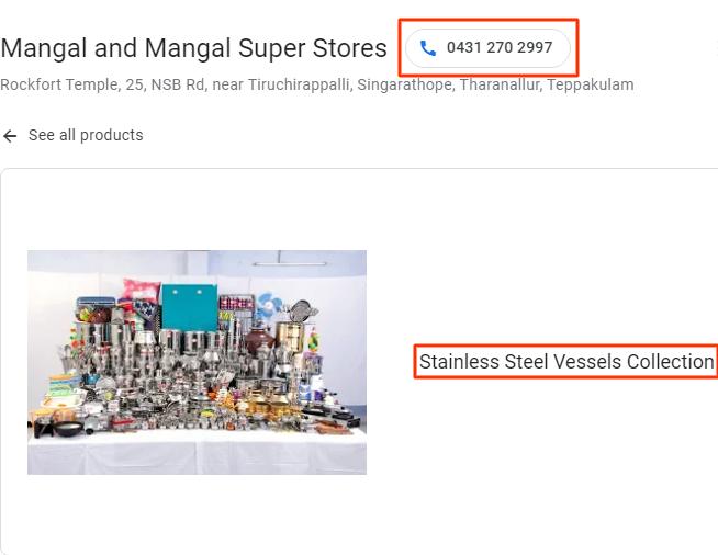 google my business product santhosh natarajan