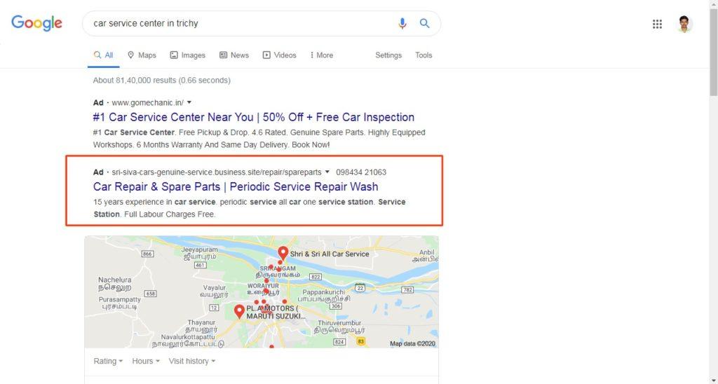 santhosh natarajan search ads