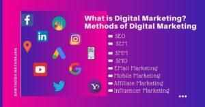 What is Digital Marketing Methods of Digital Marketing use of digital marketing methods santhosh natarajan