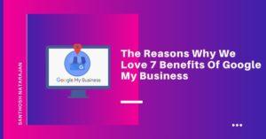 google my busines benefits santhosh natarajan