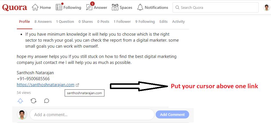 do follow link checking steps_santhosh natarajan