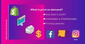 What is print on demand How does it work advantages disadvantages printing partners
