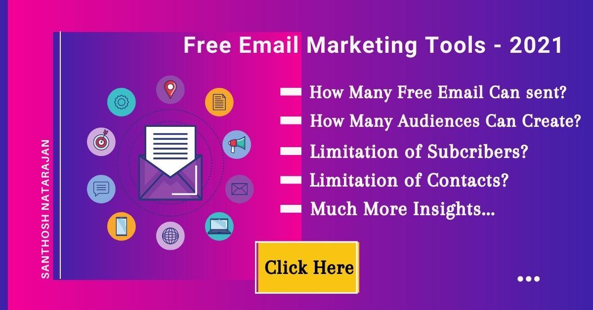 Free Email Marketing Tools Platforms - 2021